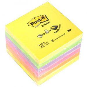 Post-it Αυτοκόλλητα Χαρτάκια Rainbow 76X76mm Z-Notes No.14014