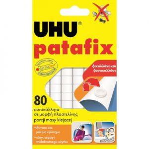 UHU Αυτοκόλλητα Διπλής Όψης PATAFIX 80 τμχ. No.15003