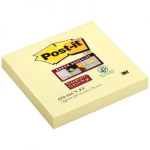 Post-it Αυτοκόλλητα Χαρτάκια Super Sticky 76x76mm No.14000