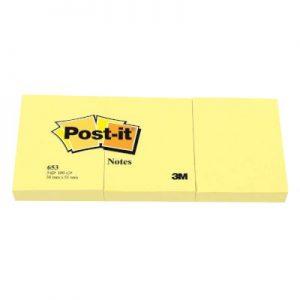 Post-it Αυτοκόλλητα Χαρτάκια 38X51mm No.14002