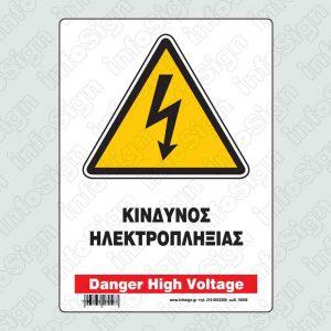 Κίνδυνος ηλεκτροπληξίας / Danger high voltage