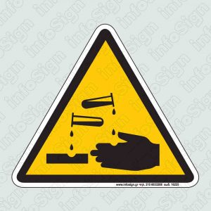 Διαβρωτικές ύλες / Corrosive materials