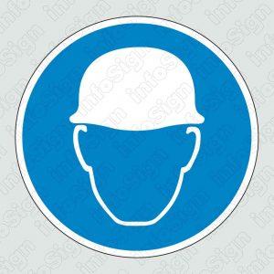Υποχρεωτική προστασία του κεφαλιού / Hard hats required