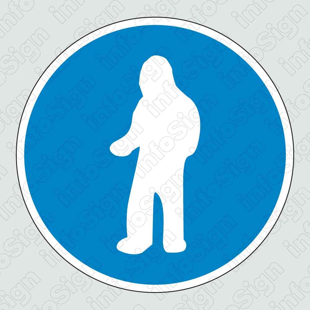 Υποχρεωτικά φοράτε στολή ολόκληρου σώματος / Full body uniform must be worn