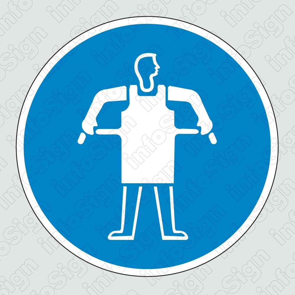 Υποχρεωτικά φοράτε ποδιά εργασίας / Protective apron must be worn