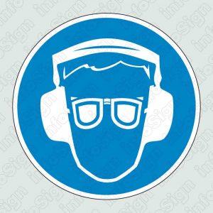 Υποχρεωτικά φοράτε γυαλιά και ωτοασπίδες / Eye and ear protection required