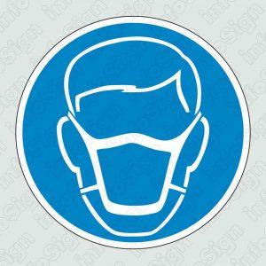 Υποχρεωτικά φοράτε μάσκα σκόνης / Dust respirator must be worn or face mask must be worn