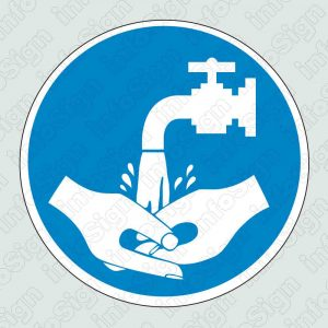Υποχρεωτικό πλύσιμο χεριών / Please wash hands