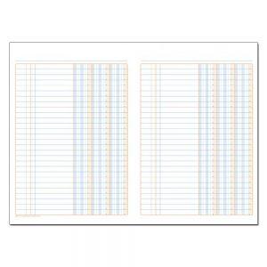 Φυλλάδα Λογιστική Τρίστηλη (25x35 / 50 φύλλων)