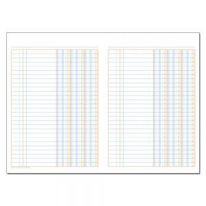 Φυλλάδα Λογιστική Τρίστηλη (25x35 / 200 φύλλων)