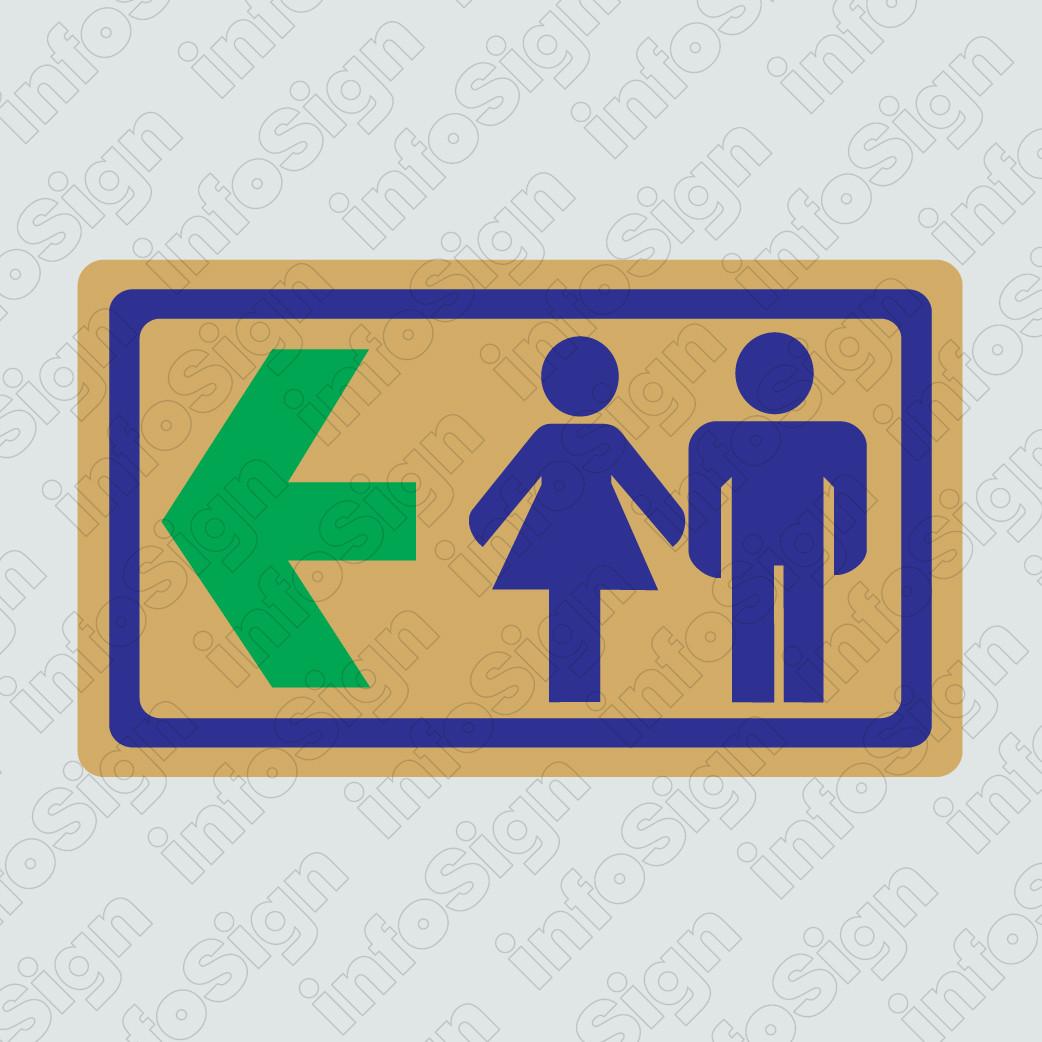 WC Αντρών-Γυναικών Χρυσό (Αριστερό Βέλος)