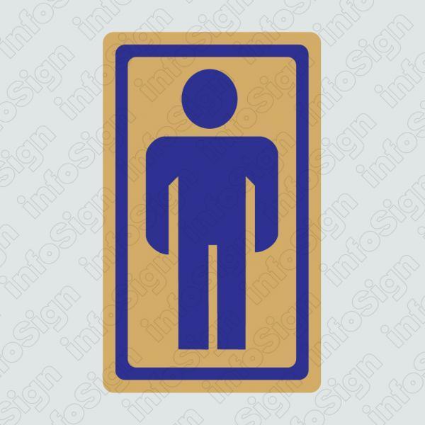 WC Ανδρών (Χρυσό Εικονόγραμμα)