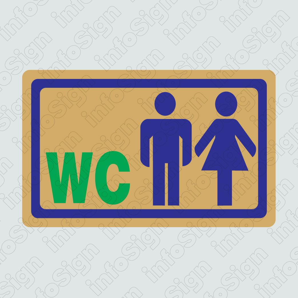WC Αντρών και Γυναικών (Χρυσό)