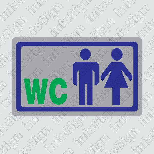 WC Αντρών και Γυναικών (Ασημένιο)