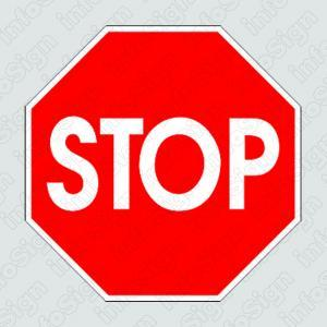 Αυτοκόλλητο Stop