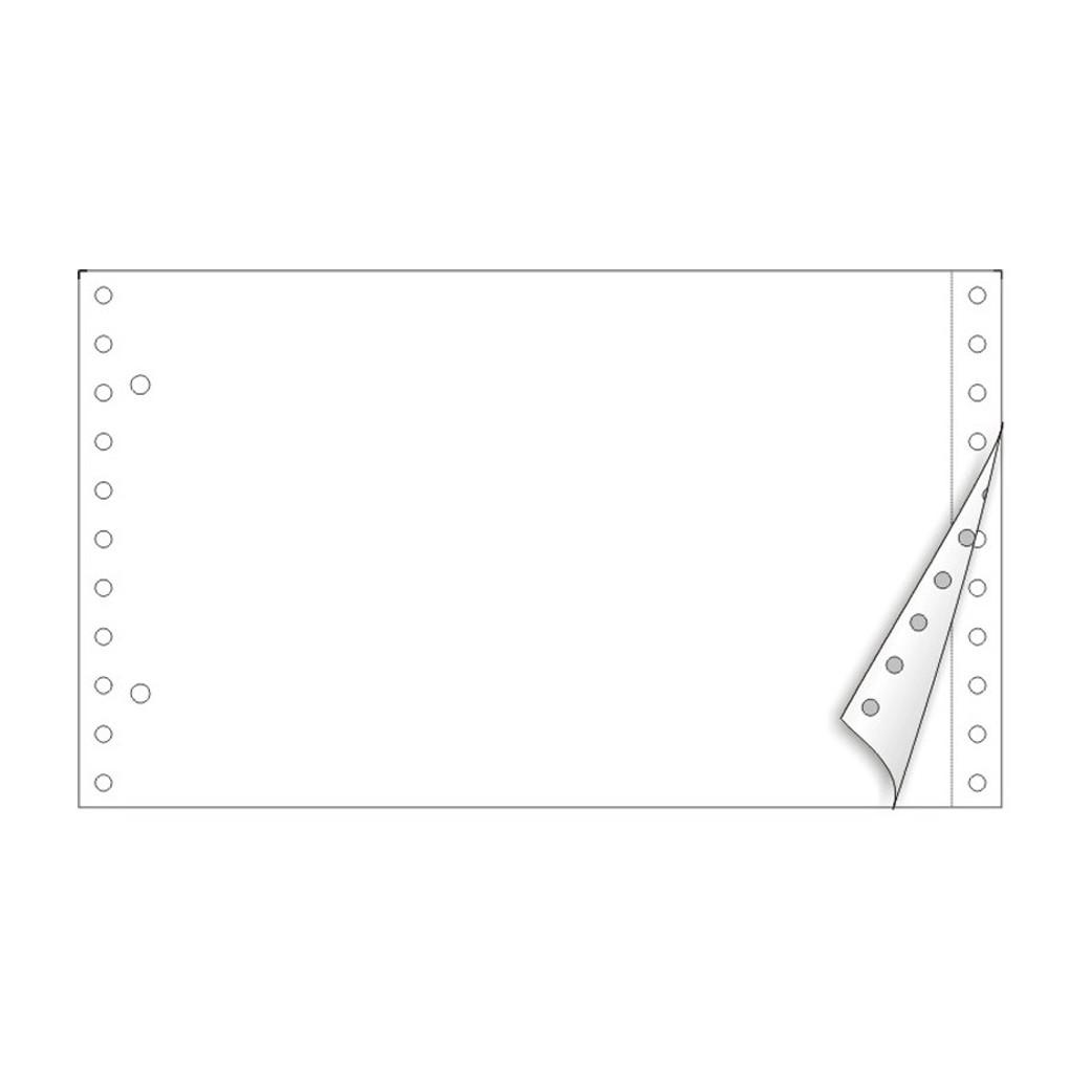 Λευκό Διπλότυπο Μηχανογραφικό Χαρτί 5.5´´x 9.5´´