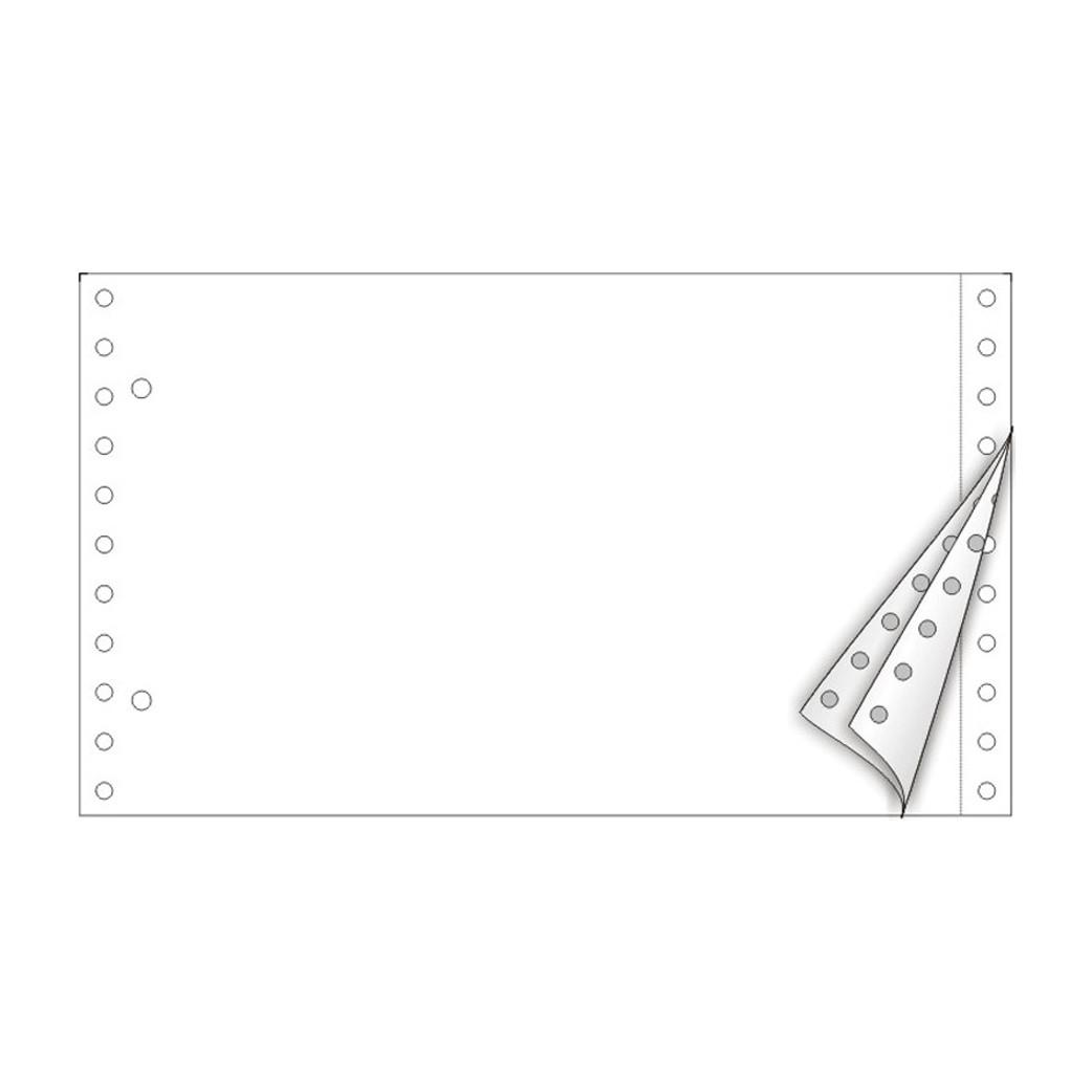 Λευκό Τριπλότυπο Μηχανογραφικό Χαρτί 5.5´´x 9.5´´