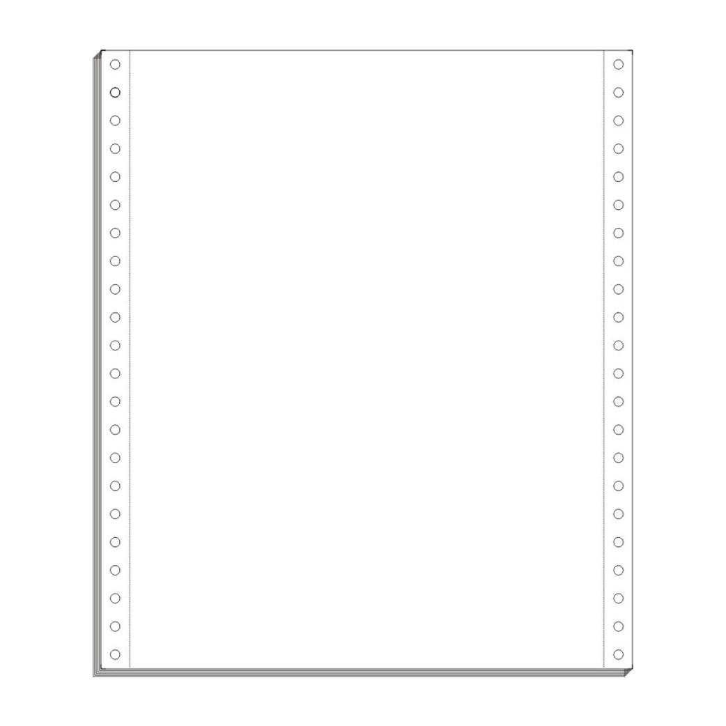 Λευκό Μηχανογραφικό Χαρτί 11´´x 9.5´´ (Χ.Ο. - 70γρ), Grafo μηχανογαρφικά έντυπα, άφιρμα μηχανογραφικά, έντυπα λογιστηρίου , χαρτί για laser και κρουστικούς εκτυπωτές, προτυπωμένα λογιστικά έντυπα