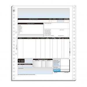 Τριπλότυπο Μηχανογραφικό Έντυπο 11´´x 9.5´´ (Singular Logic) M-505 M506