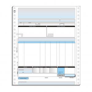 Τριπλότυπο Μηχανογραφικό Έντυπο 28 x 24 cm (Computer Logic)