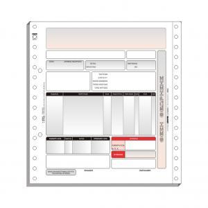 Μηχανογραφικό Έντυπο 8´´x 19cm (Computer Logic)