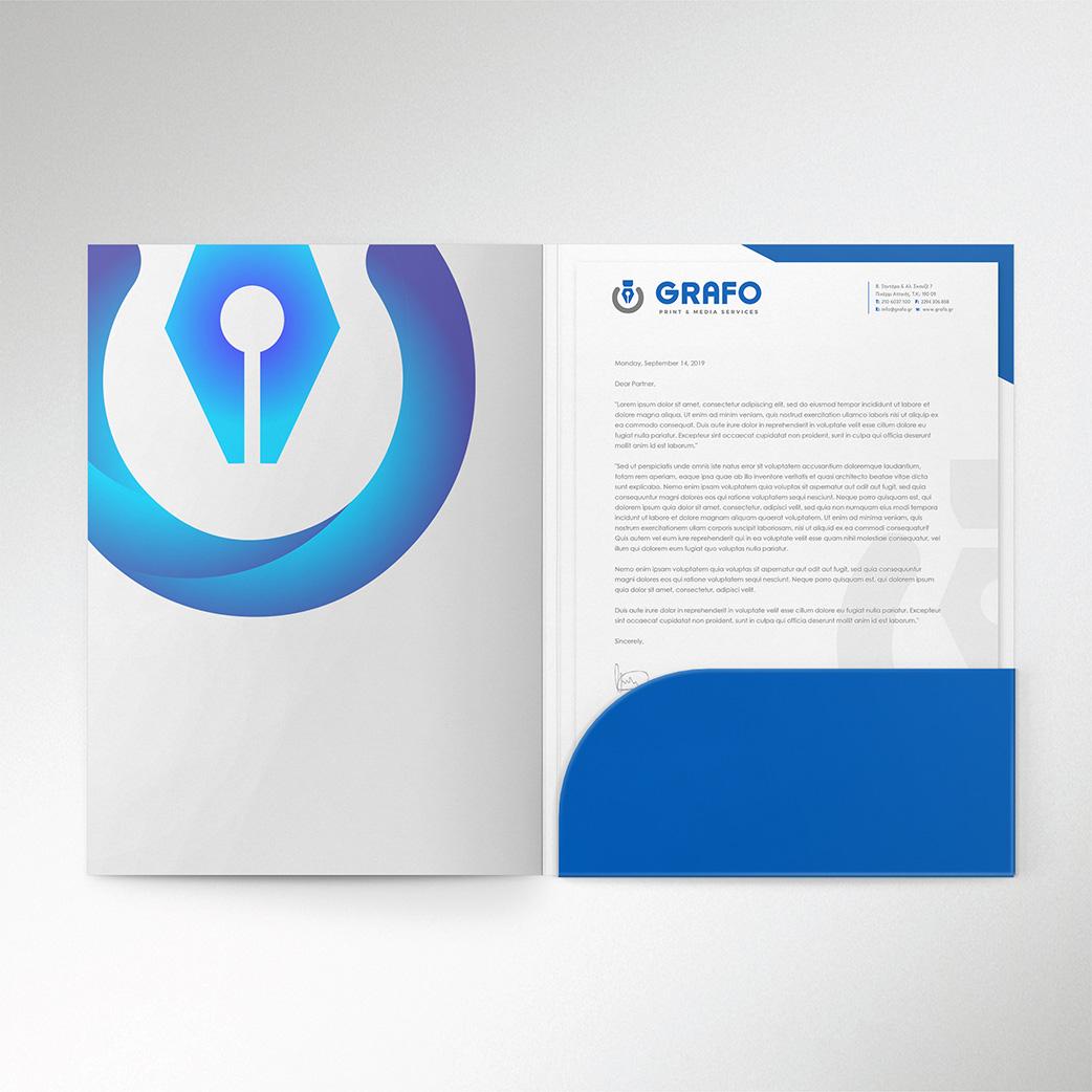 Εταιρικά Folders Grafo.gr