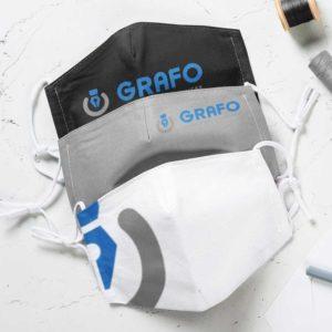 Μάσκες Προστασίας με εκτύπωση